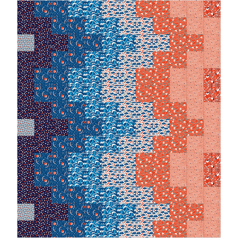Free Quilt Pattern -  Constant Motion