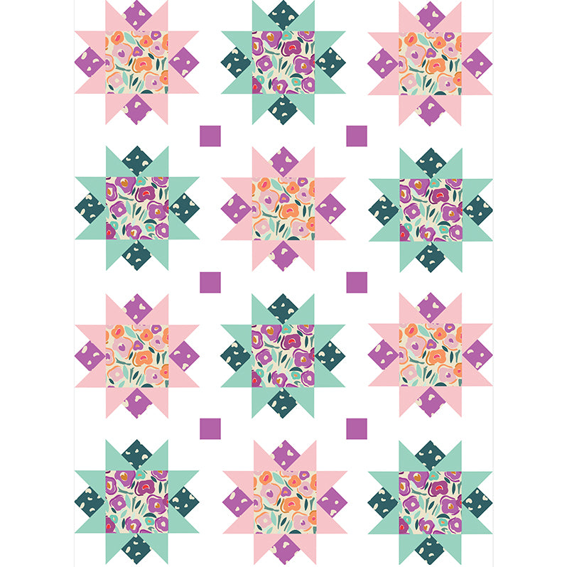Free Quilt Pattern -  Flower Girl