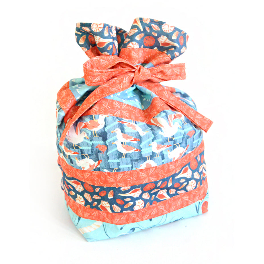 Free Drawstring Gift + Wine Bag Pattern Set