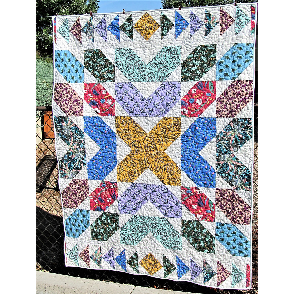 Free Quilt Pattern -  Fat Quarter Fancy