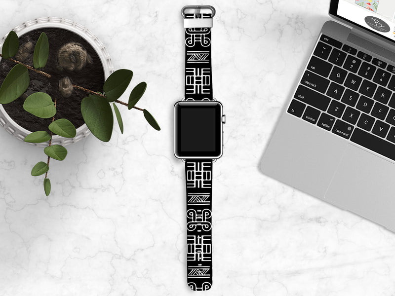 Monochrome Samsung Watch Bands