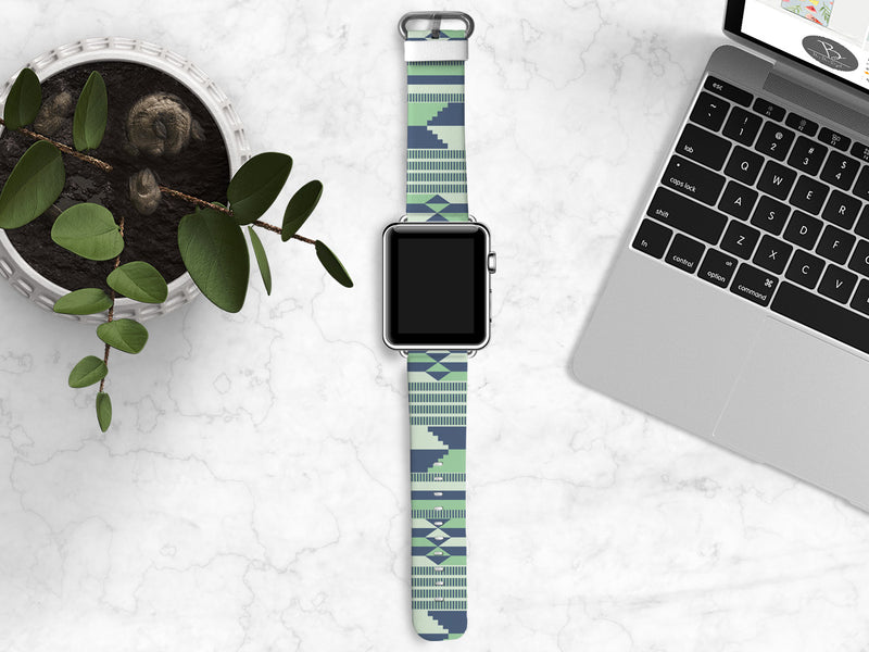 Kente Apple Watch Bands