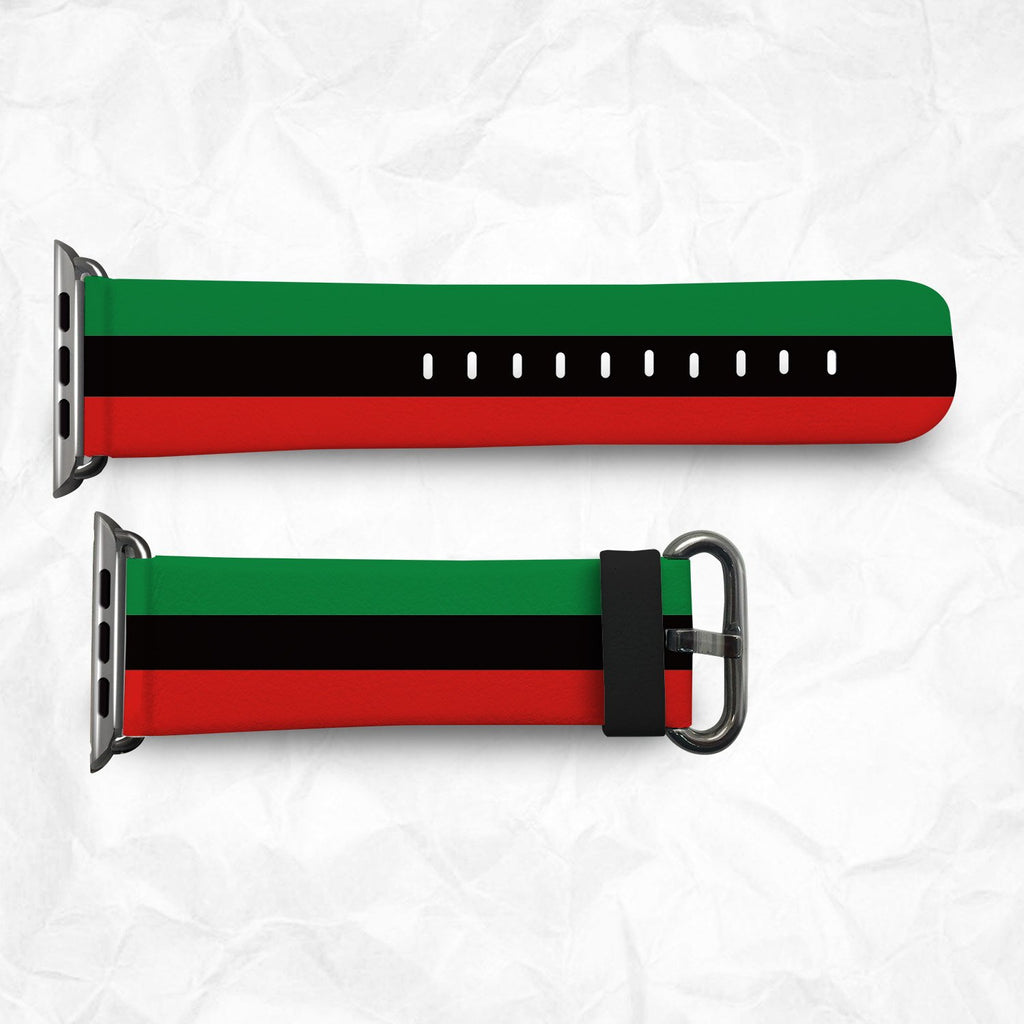 Black Power Apple Watch Bands