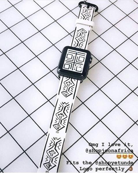 Adinkra/Mudcloth Special Edition Fitbit Versa Lite Bands