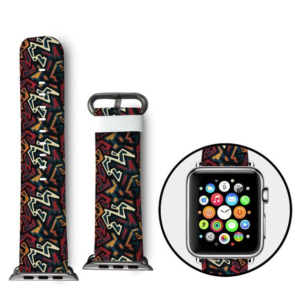 Ankara Apple Watch Bands