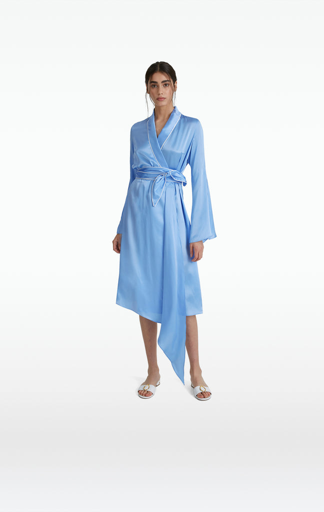Gloria Safiyaa Blue Robe