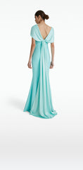 Lola Turquoise Long Dress