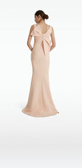 Tiffany Peach Long Dress