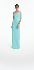 Amelia Turquoise Long Dress