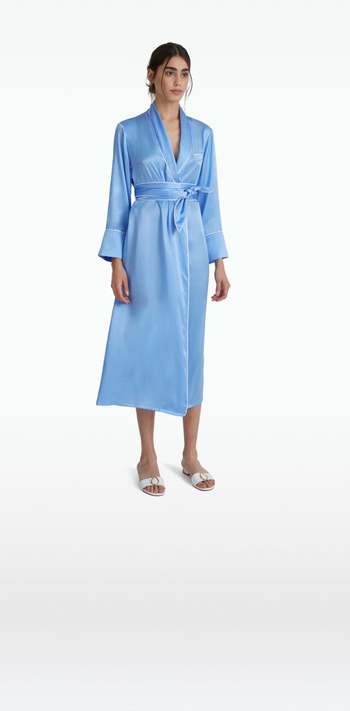 Indica Safiyaa Blue Long Robe