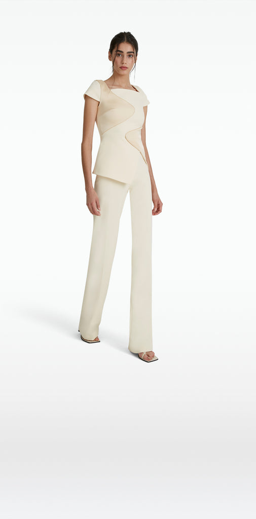 Natasha Cream Trousers