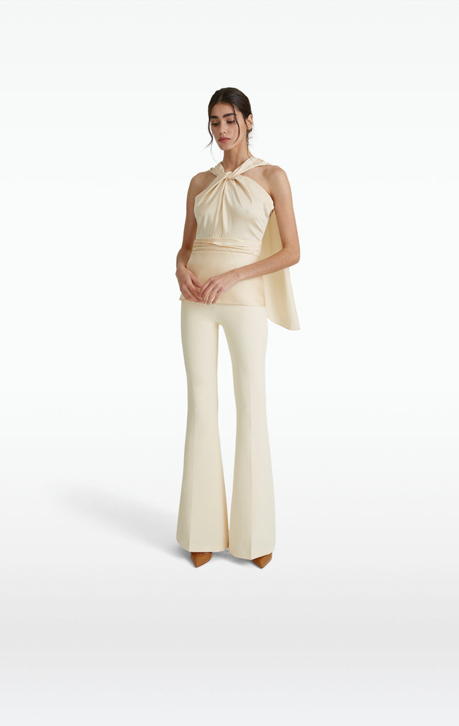 Halluana Cream Trousers