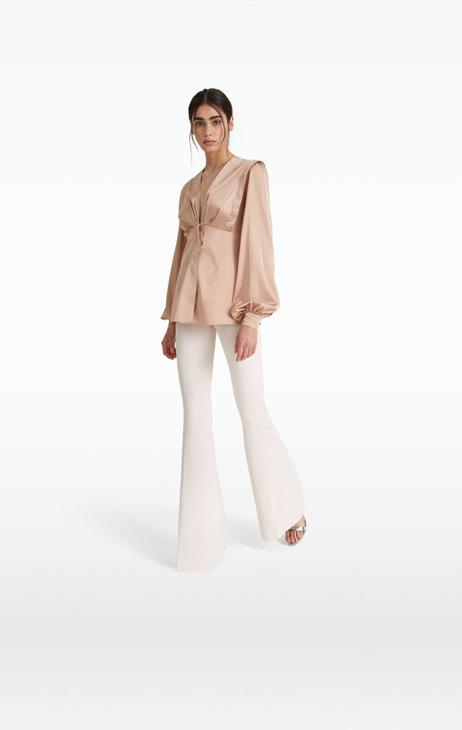 Halluana White Sand Trousers