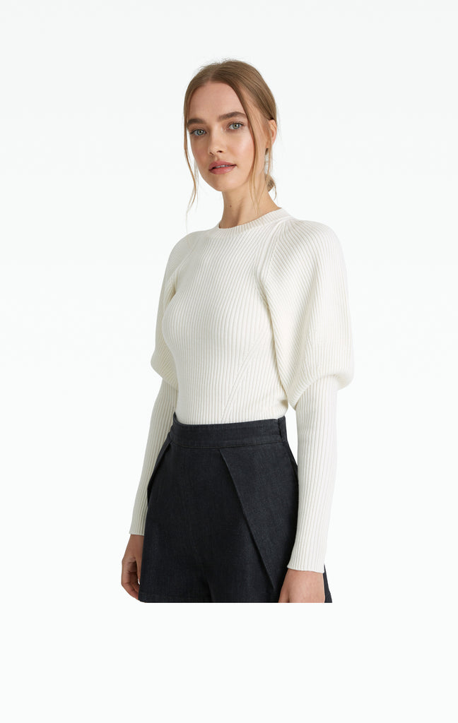 Abby Ivory Knit