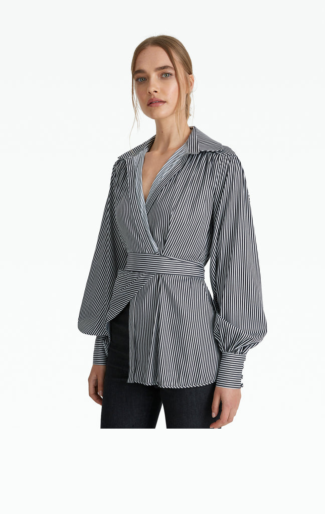 Odyssey Striped Cotton Shirt