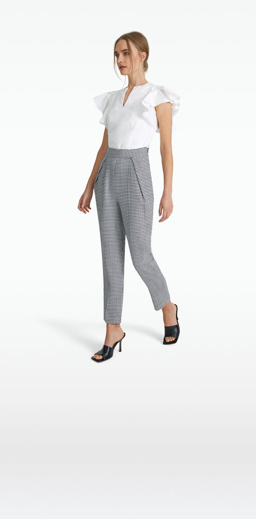 Fruzsina Houndstooth Trousers