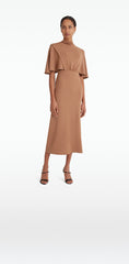 Miranda Camel Dress