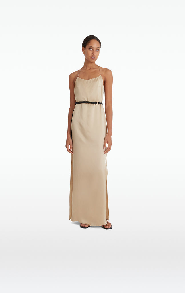 Gwyneth Champagne Dress
