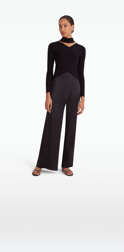 Zika Black Trousers