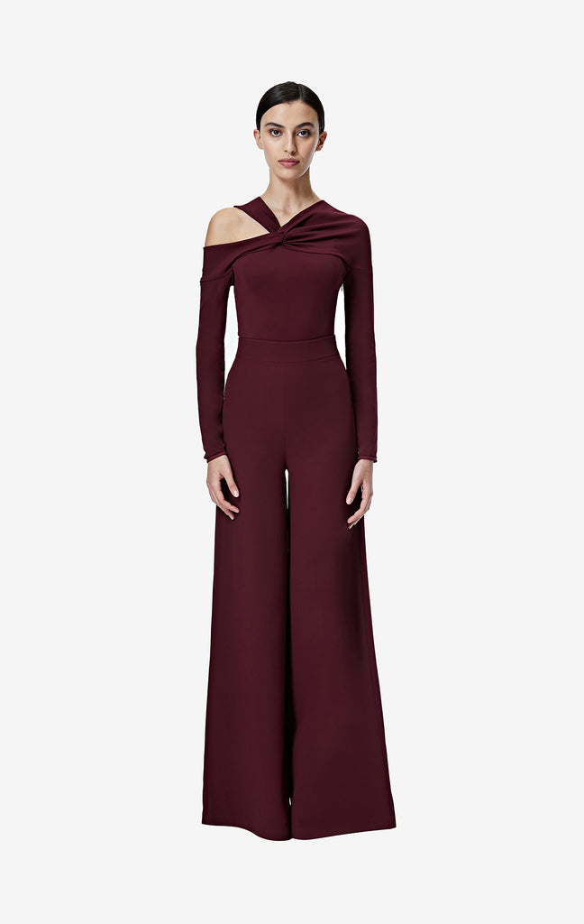 Audree Wine Trousers