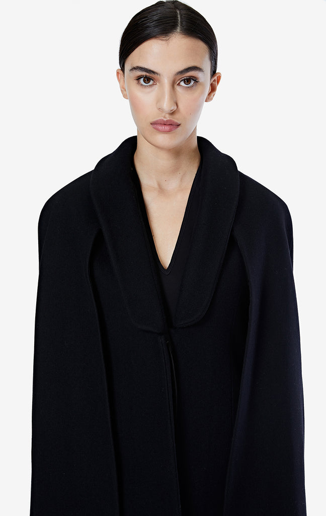 Fiona Black Coat