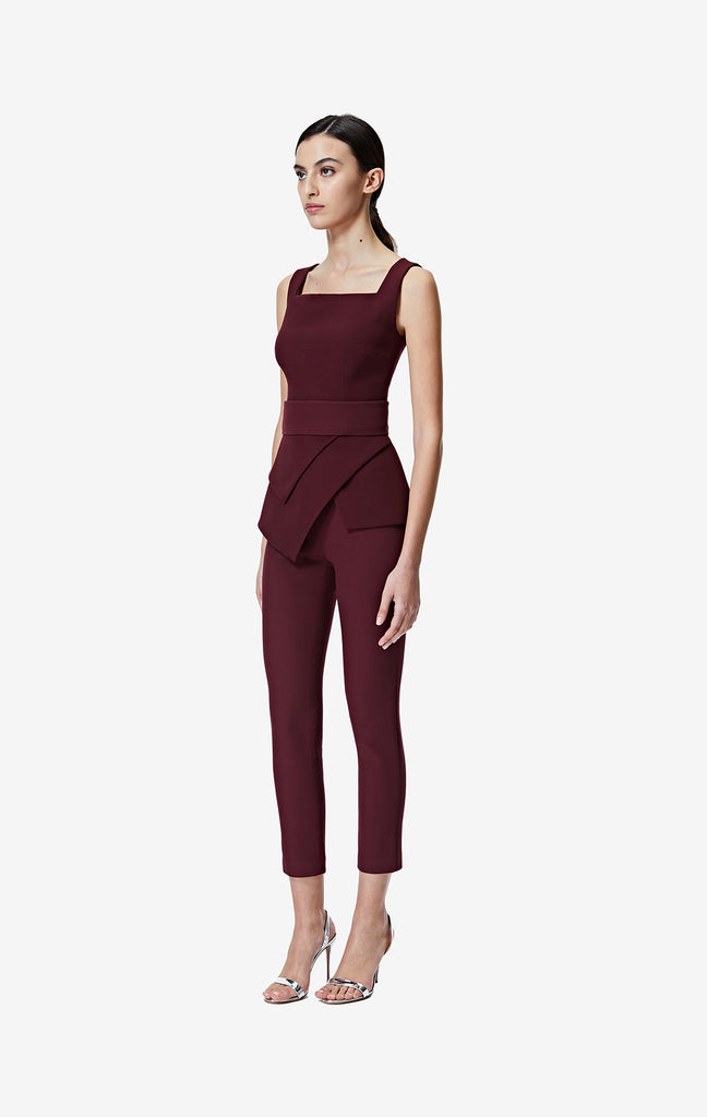 Adrianna Wine Trousers