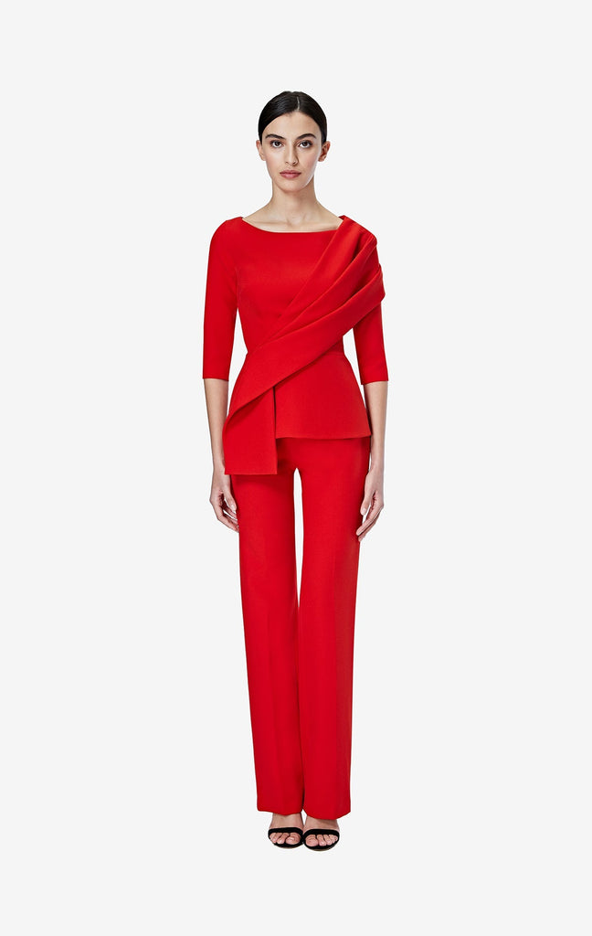 Goldie Dazzling Red Trousers