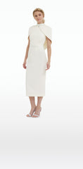 Arella Ivory Midi Dress