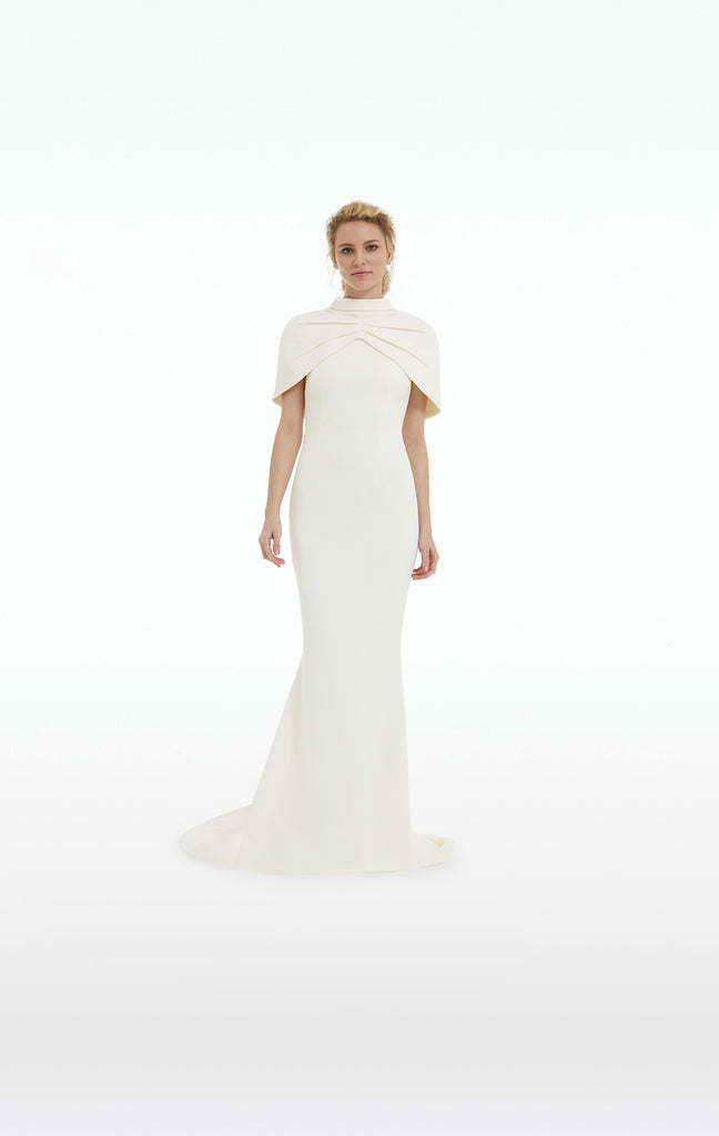 Jophiel Ivory Long Dress