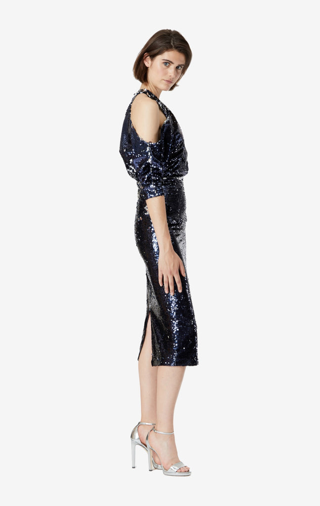Violetta Sequin Midi Dress