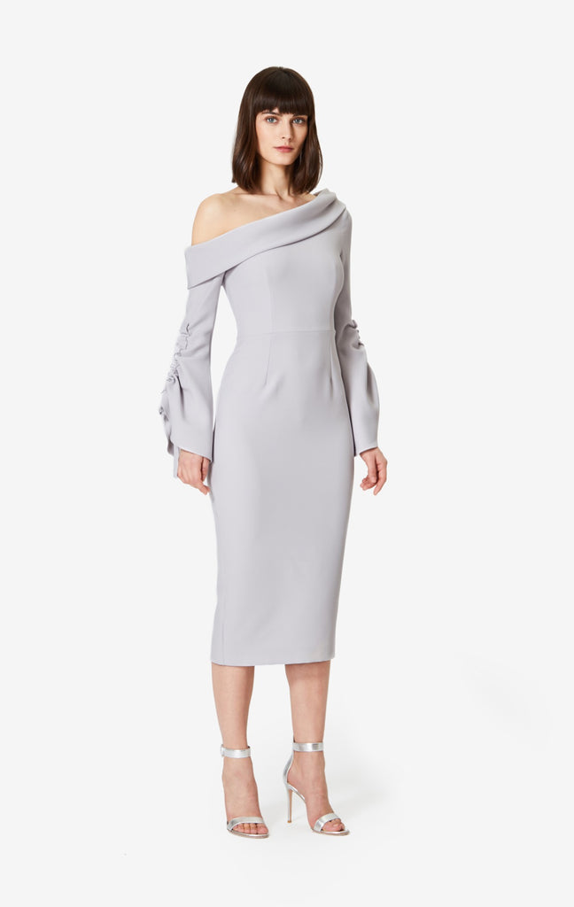 Erin Flared Sleeve Dress