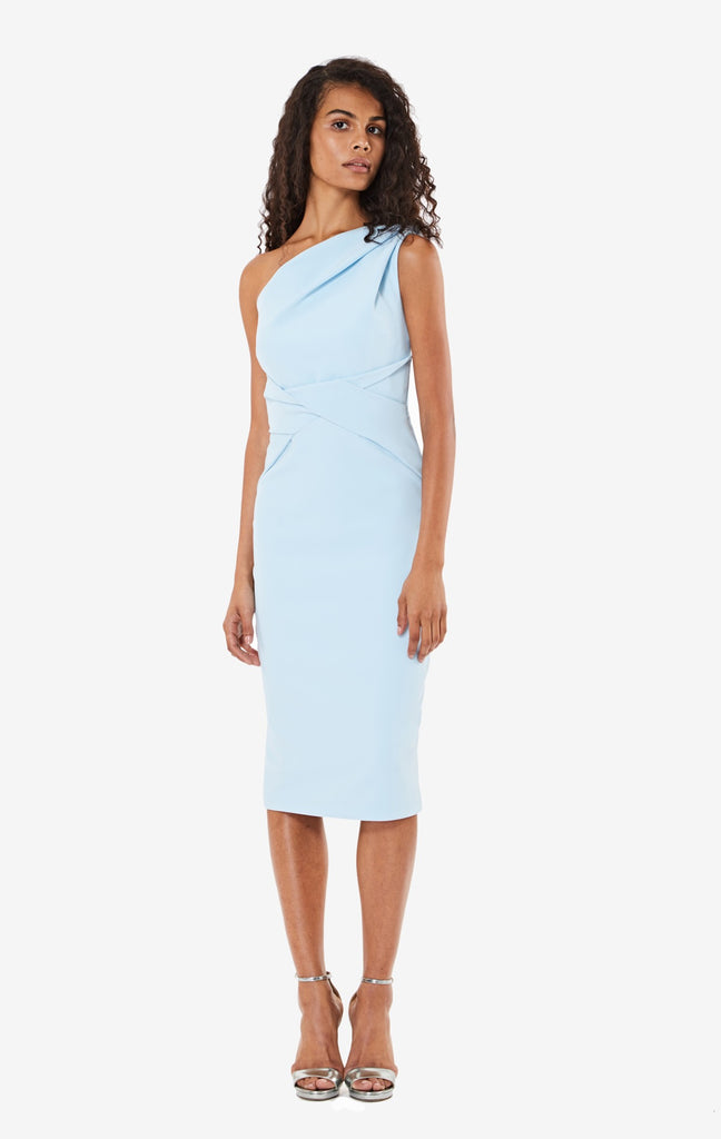 Bailey Asymmetric Draped Dress