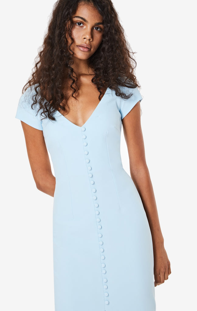 Adalyn Cap Sleeve Midi Dress