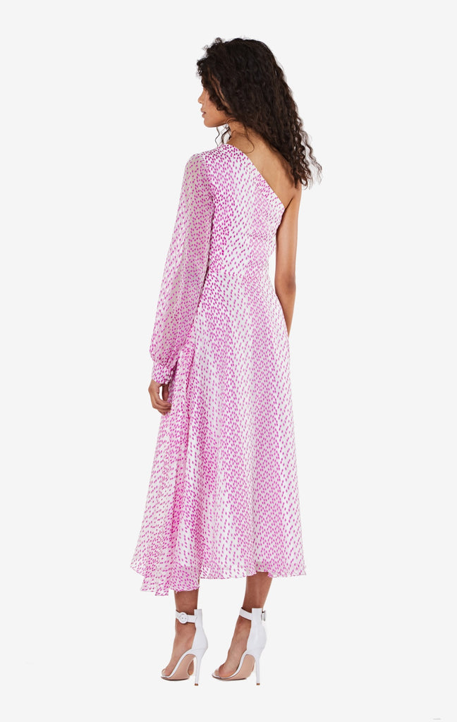 Valeria Asymmetric Midi Dress