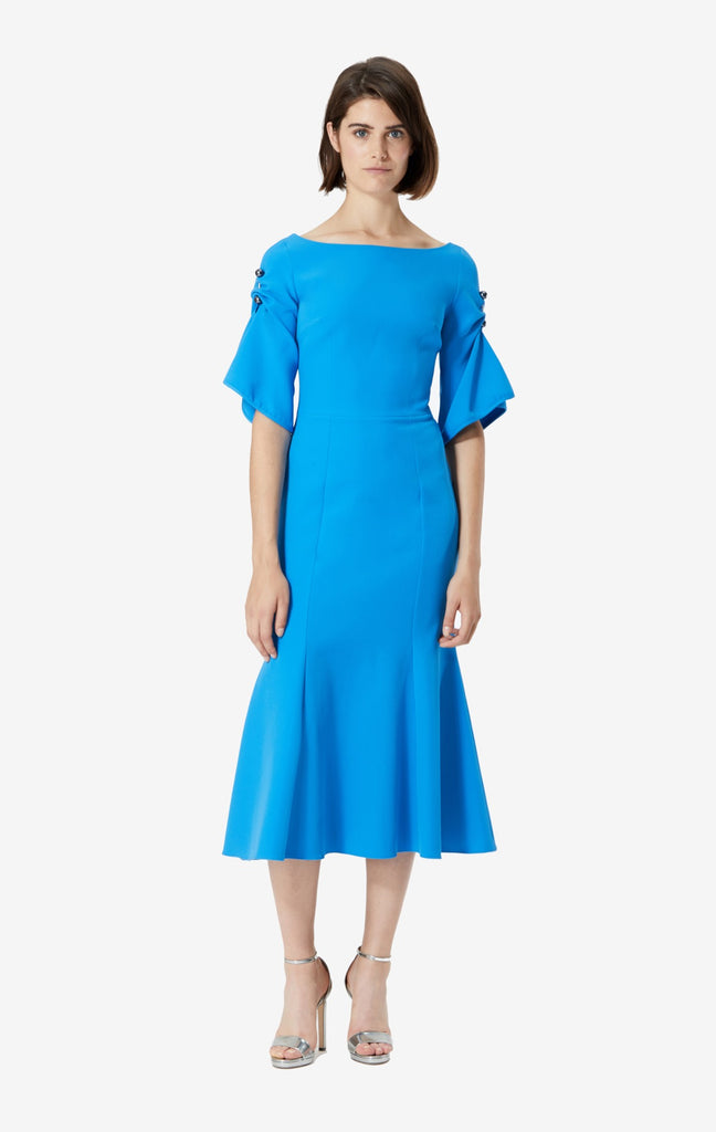 Caria Boat Neck Dress