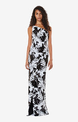 Tupelo Bicolour Sequin Long Dress