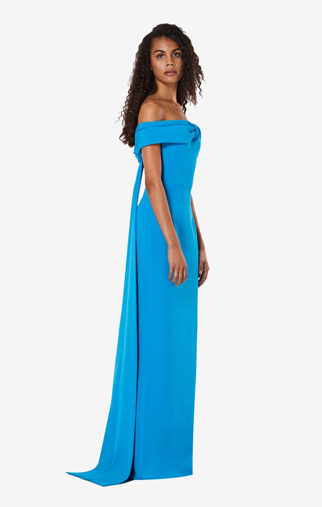 Fleur Off the Shoulders Long Dress