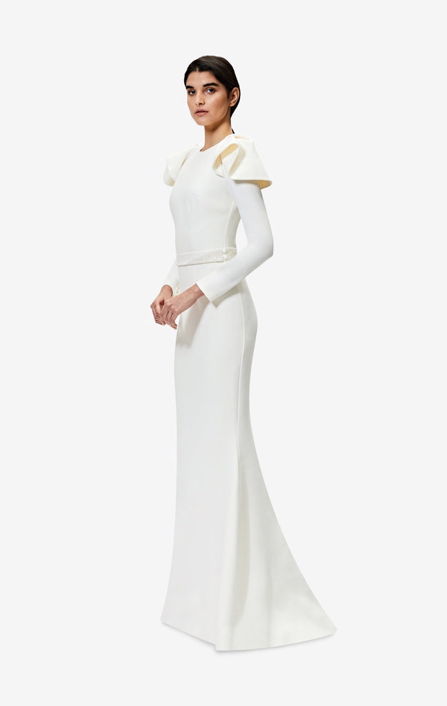 Kaloni Ivory Long Dress