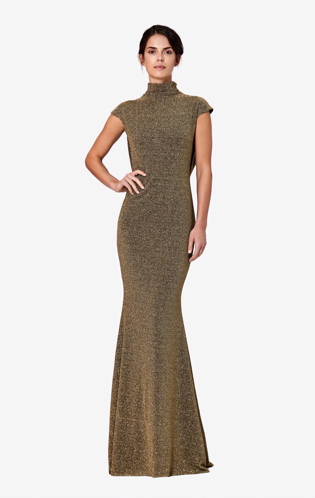 Lucia Long Lurex Dress