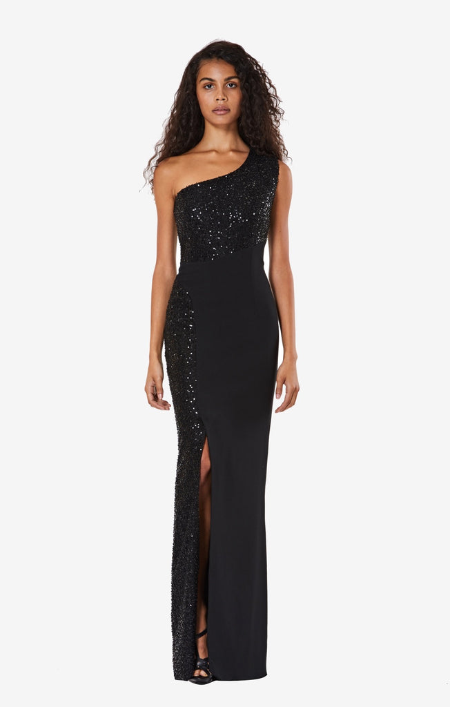 Bethany One Shoulder Long Dress