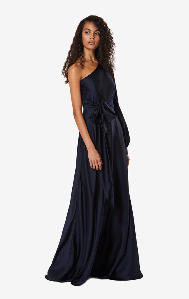 Valeria Asymmetric Long Dress
