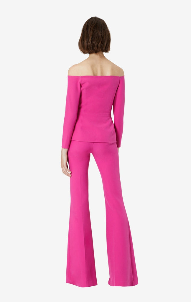 Halluana Front Zip Very Berry Trousers