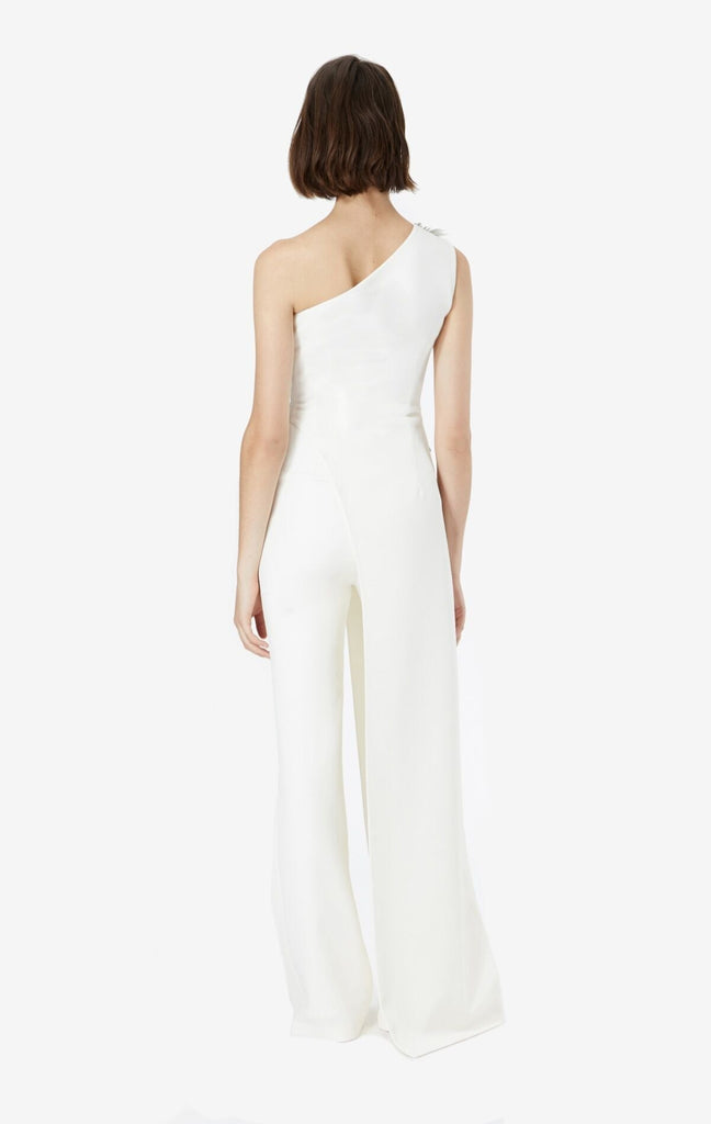 Rhea Embroidered Asymmetric Jumpsuit