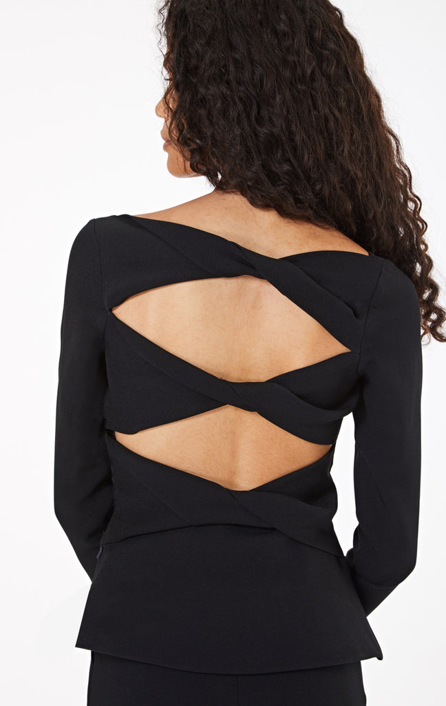 Oaklyn Knotted Back Top