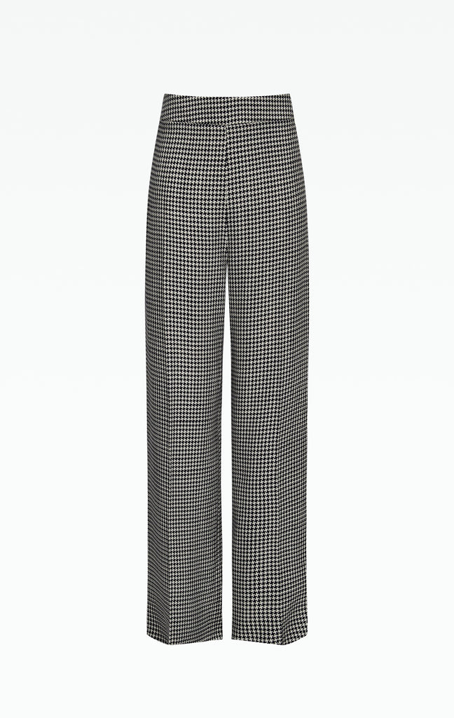 Marlene Houndstooth Trousers