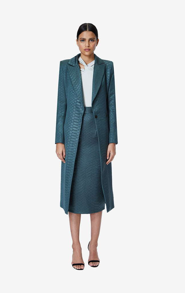Victoria Armadillo Long Coat