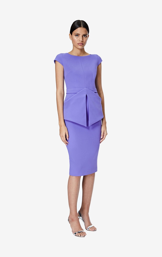 Anita Amethyst Midi Dress