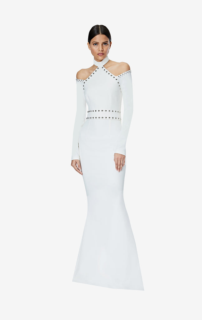 Vega Studded Long Dress