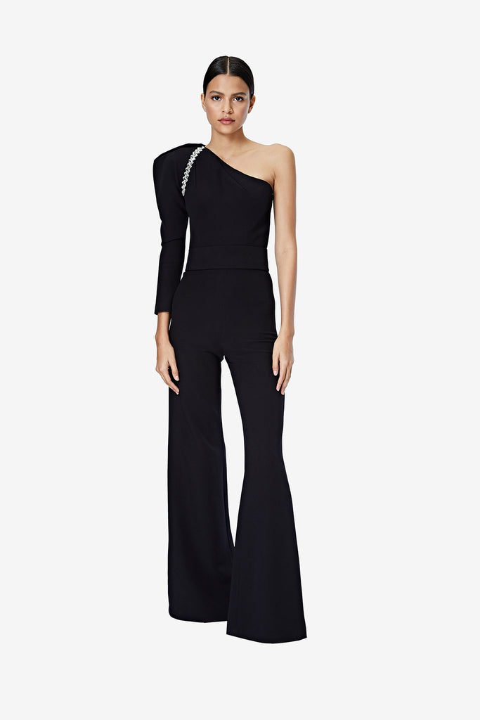 Delyse Black Jumpsuit