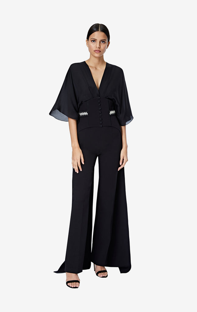 Iona Jumpsuit with Jonty Embroidered Belt